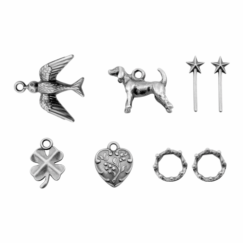 Tim Holtz Idea-ology TREASURES ADORNMENTS Findings TH93572 Preview Image