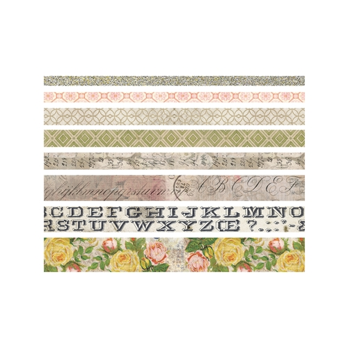 Tim Holtz Idea-ology ROSE Design Tape TH93354 Preview Image