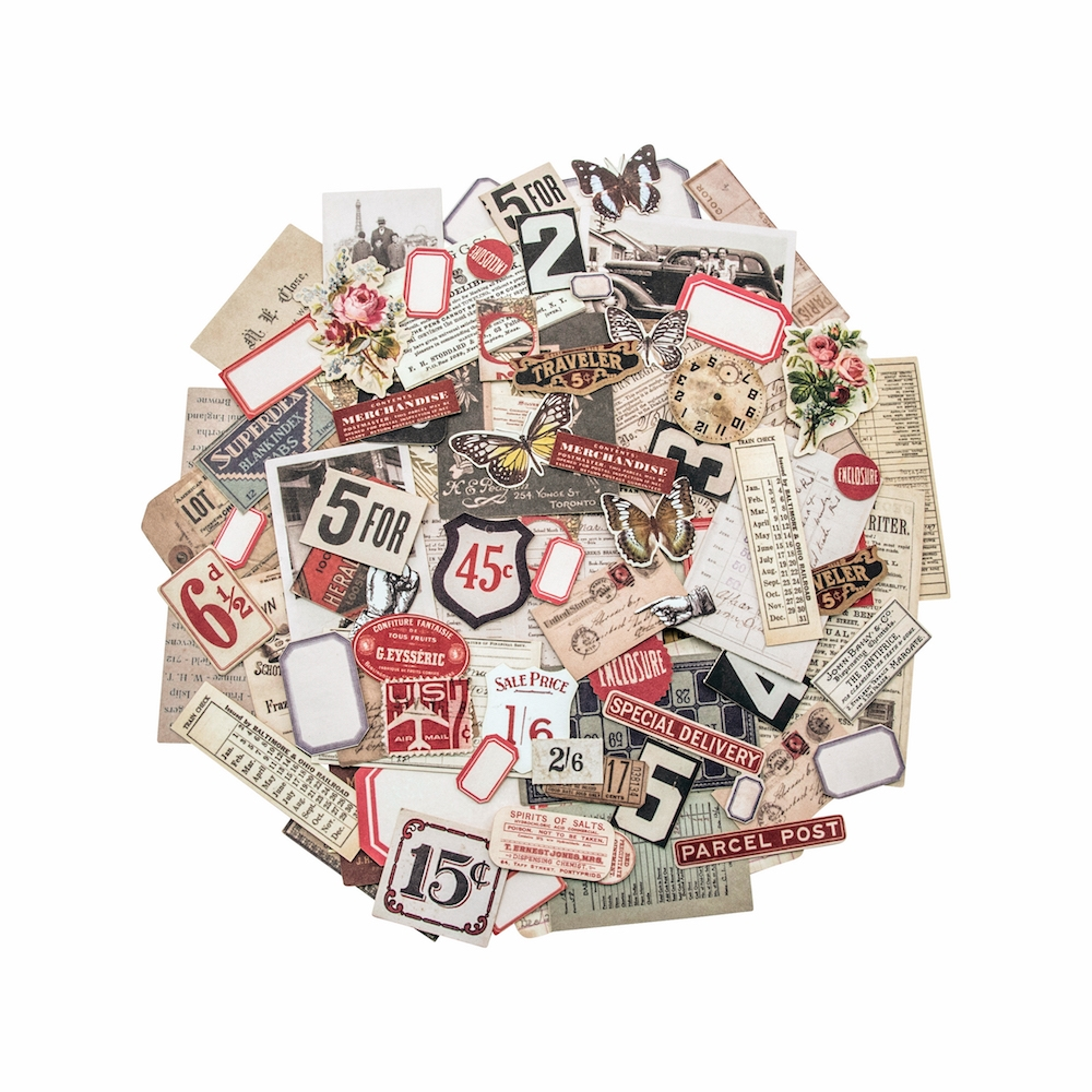 Tim Holtz Idea-ology SNIPPETS Ephemera TH93564 zoom image