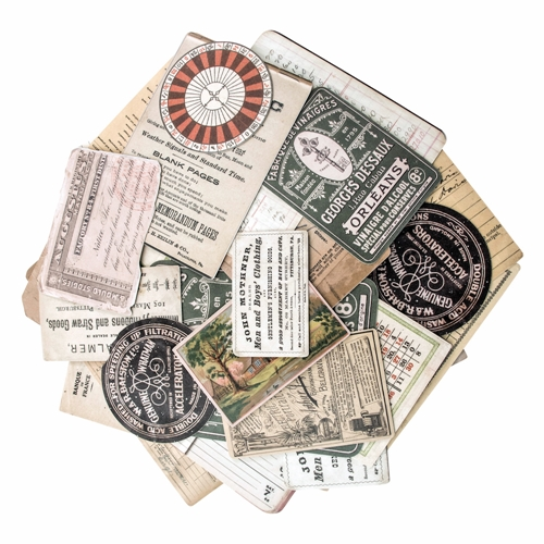 Tim Holtz Idea-ology COLLECTOR Ephemera Layers TH93553 Preview Image