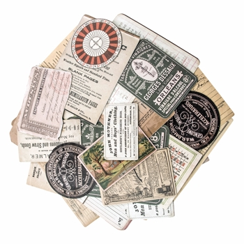 Tim Holtz Idea-ology COLLECTOR Ephemera Layers TH93553