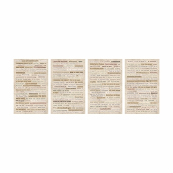 Tim Holtz Idea-ology CLIPPINGS Stickers TH93583*