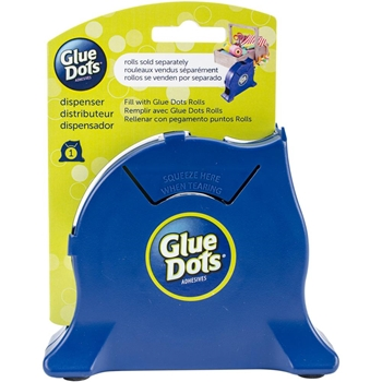 Glue Dots NAVY DESKTOP ROLL Dispenser 32901