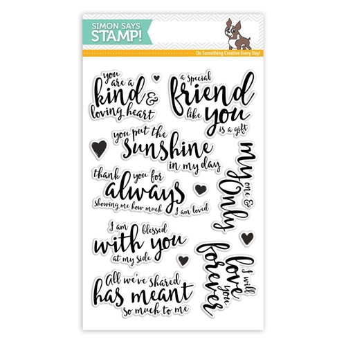 Simon Says Clear Stamps LOVING HEART SSS101718 Preview Image