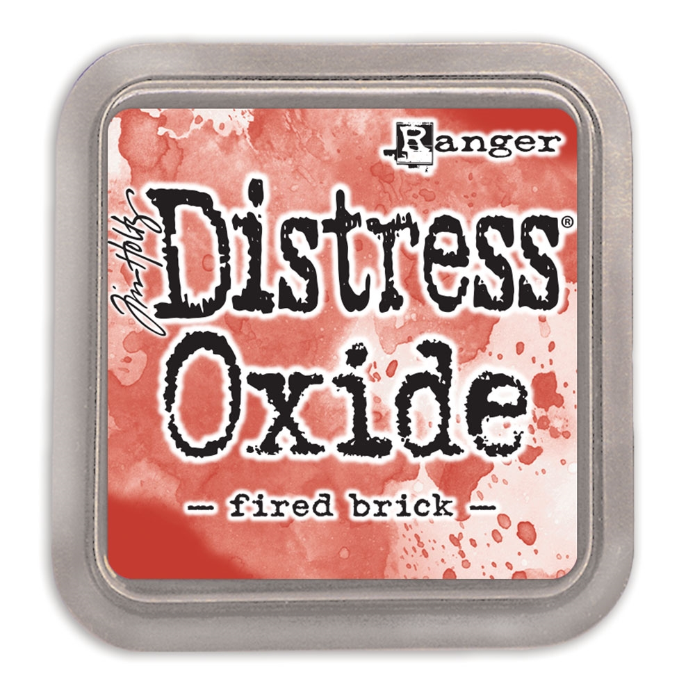 Tim Holtz Distress Oxide Ink Pad FIRED BRICK Ranger TDO55969 zoom image