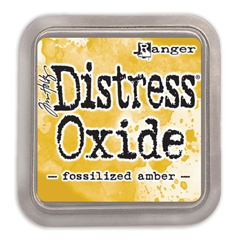 Tim Holtz Distress Oxide Ink Pad FOSSILIZED AMBER Ranger TDO55983