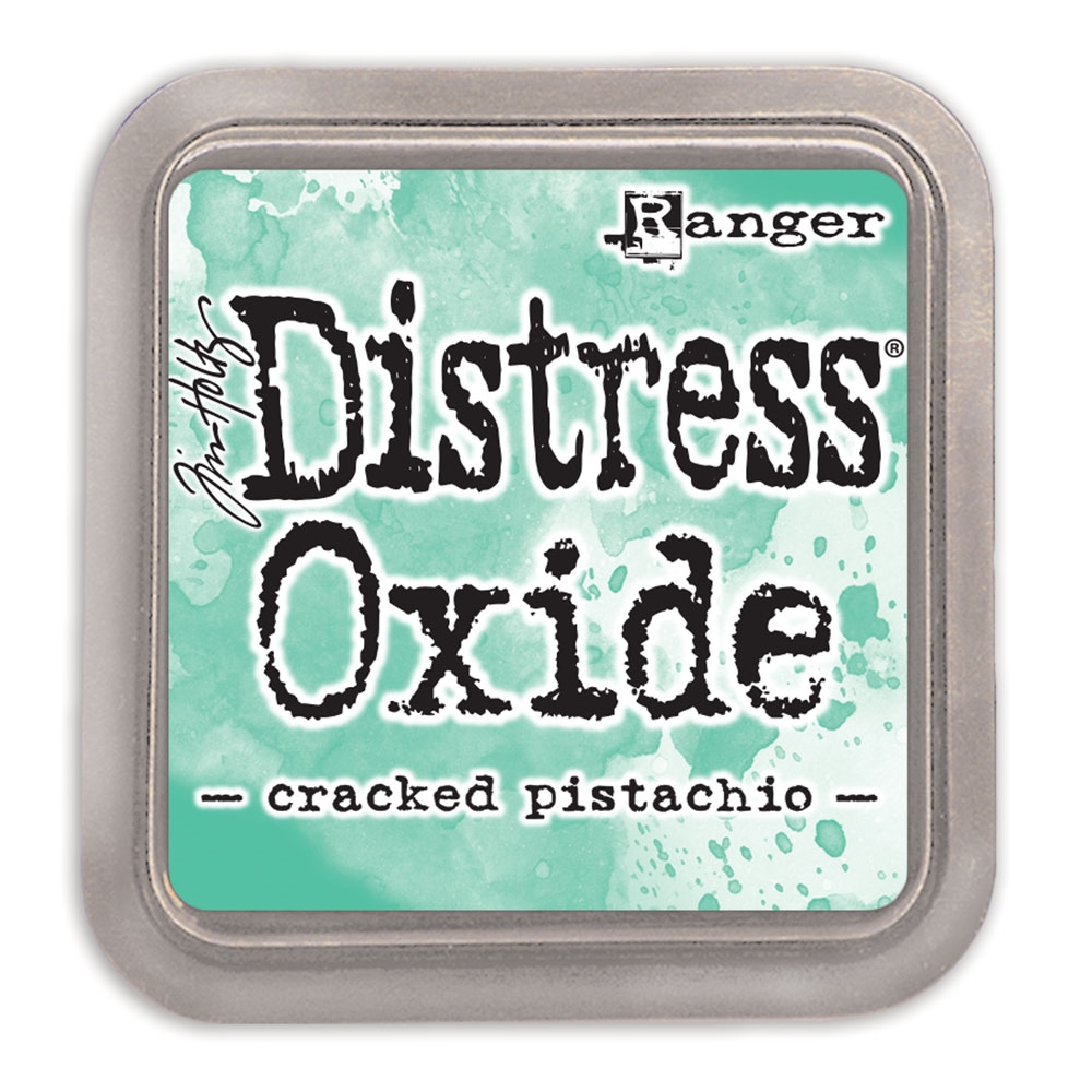 Tim Holtz Distress Oxide Ink Pad CRACKED PISTACHIO Ranger TDO55891 zoom image