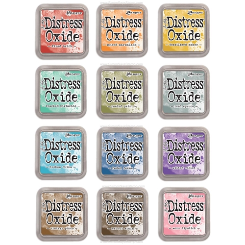 Tim Holtz Distress OXIDE INK PAD SET OF 12 Ranger RANGER97 Preview Image