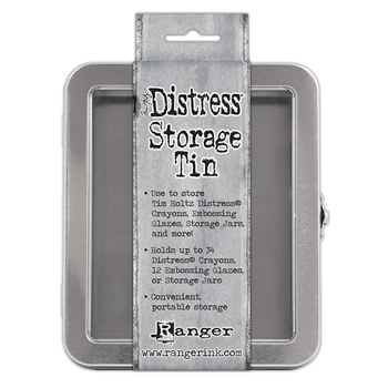 Tim Holtz DISTRESS CRAYON STORAGE TIN TDA56485