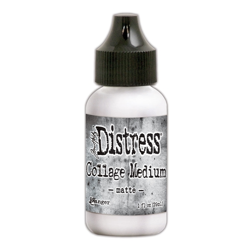 Tim Holtz Distress Collage Medium MATTE 1OZ TDA58076 Preview Image