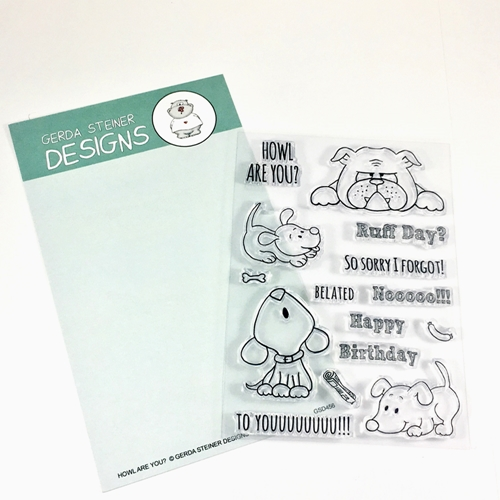 Gerda Steiner Designs HOWL ARE YOU Clear Stamp Set GSD456 Preview Image