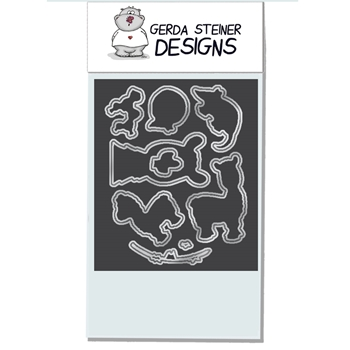 Gerda Steiner Designs LLAMA TELL YOU Die Set GSD533DIE *