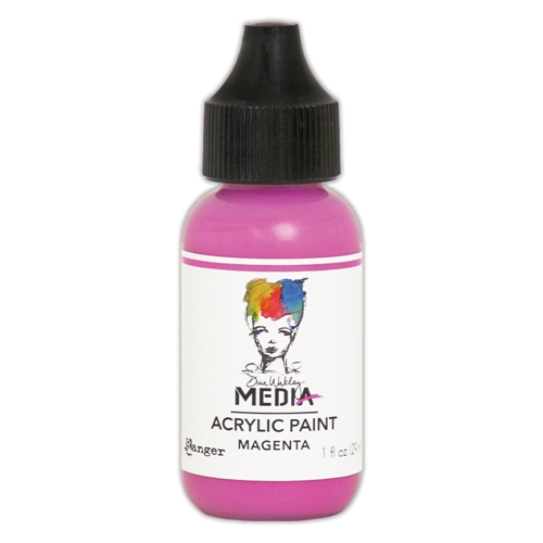 Dina Wakley Ranger MAGENTA 1OZ Media Acrylic Paint MDQ54047 Preview Image