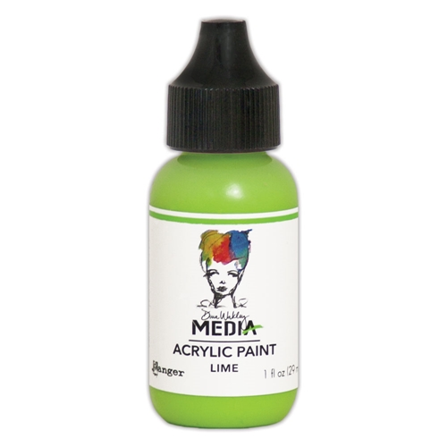 Dina Wakley Ranger LIME 1OZ Media Acrylic Paints MDQ54030 Preview Image