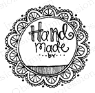 Impression Obsession Cling Stamp HANDMADE BY C19341 Preview Image