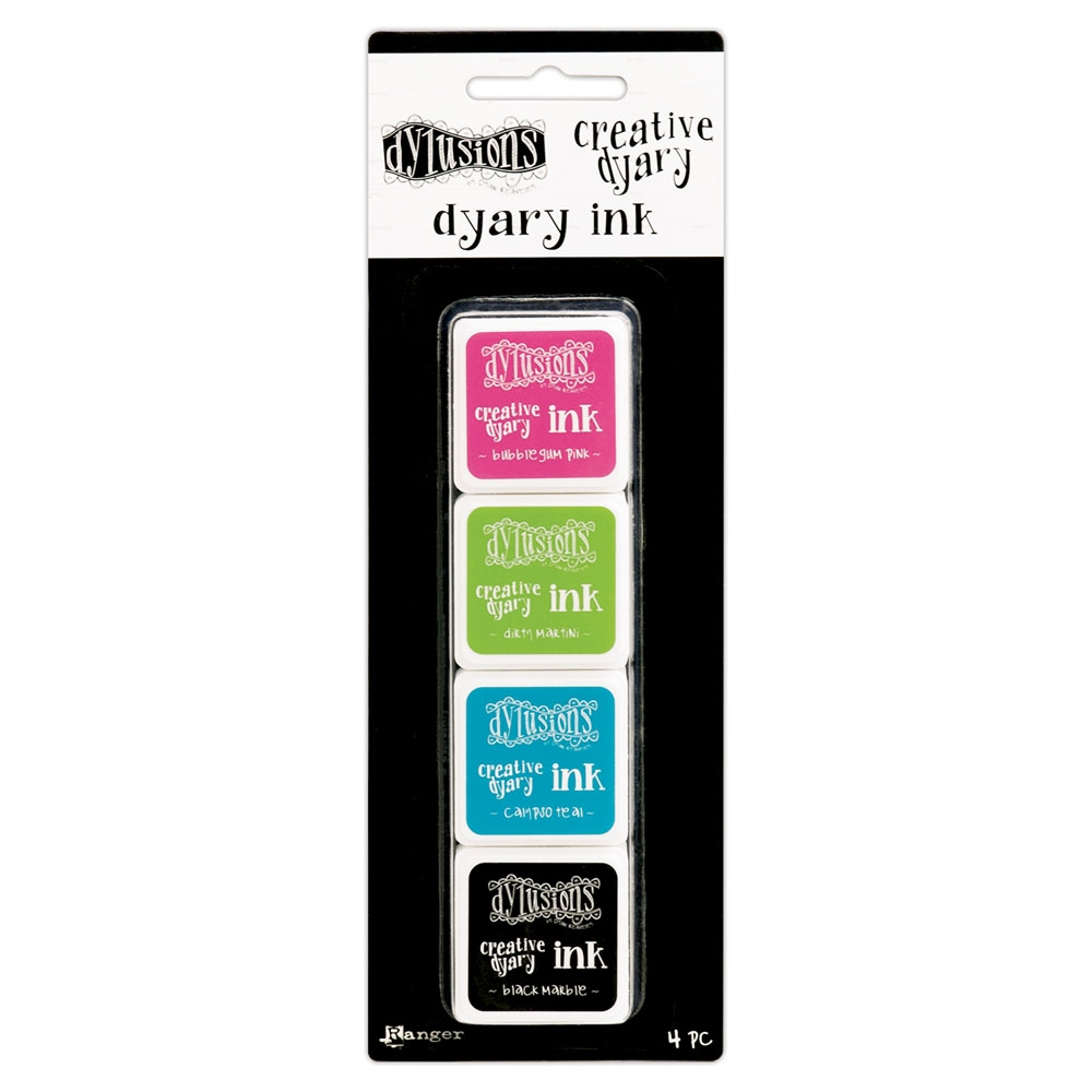 Ranger Dylusions CREATIVE DYARY INK PADS SET 1 Dyan Reaveley DYE57499 zoom image