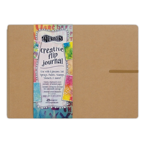 Ranger Dylusions LARGE CREATIVE FLIP JOURNAL Dyan Reaveley DYJ53583 * Preview Image