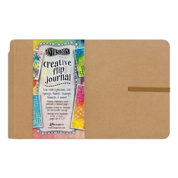 Ranger Dylusions SMALL CREATIVE FLIP JOURNAL Dyan Reaveley DYJ53576