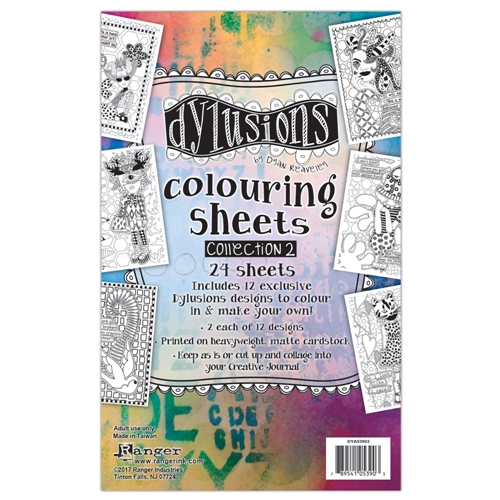 Ranger Dylusions COLORING SHEETS COLLECTION  2 DYA53903 Preview Image