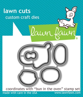 Lawn Fawn BUN IN THE OVEN Lawn Cuts LF1318* zoom image
