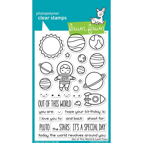 Lawn Fawn OUT OF THIS WORLD Clear Stamps LF1330 Preview Image