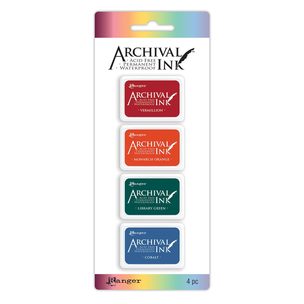 Ranger Mini Archival Ink Pads KIT 1 AIMK57673 zoom image