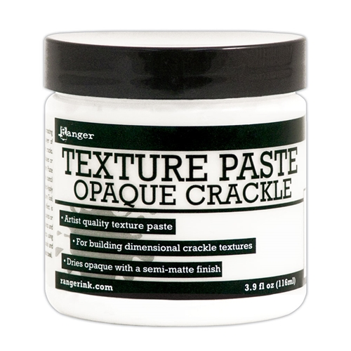 Ranger TEXTURE PASTE OPAQUE CRACKLE 4oz INK57505 Preview Image
