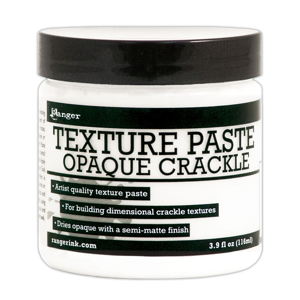 Ranger TEXTURE PASTE OPAQUE CRACKLE 4oz INK57505 zoom image