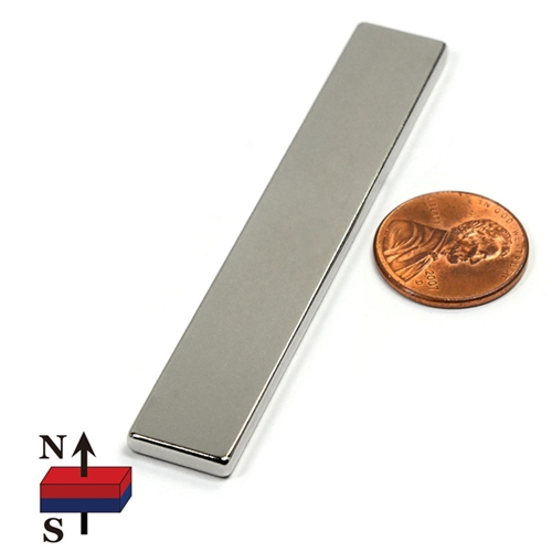 NEODYMIUM BAR MAGNET Rectangle NBM Preview Image
