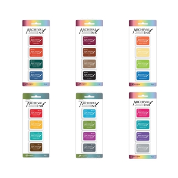 Ranger MINI ARCHIVAL INK PADS SET RANGER100