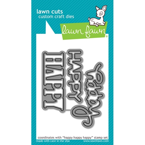 Lawn Fawn HAPPY HAPPY HAPPY Lawn Cuts LF1335 Preview Image