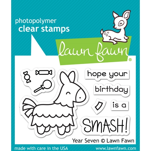 Lawn Fawn YEAR SEVEN Clear Stamps LF1338 Preview Image