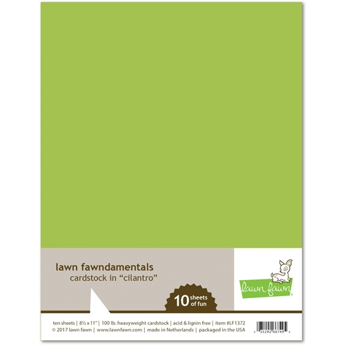 Lawn Fawn CILANTRO Cardstock LF1372 Preview Image