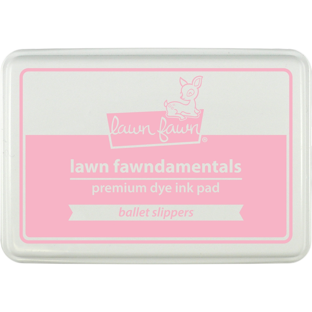 Lawn Fawn BALLET SLIPPERS Premium Dye Ink Pad Fawndamentals LF1386 zoom image
