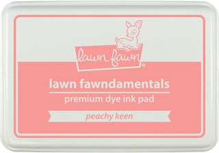Lawn Fawn PEACHY KEEN Premium Dye Ink Pad Fawndamentals LF1390 zoom image
