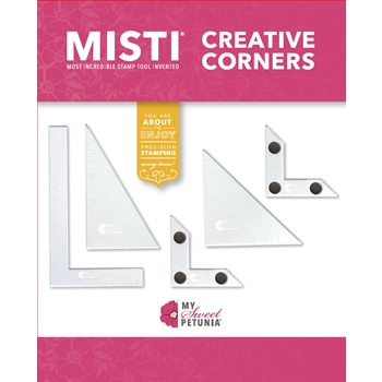 MISTI CREATIVE CORNERS Positioning Pieces 007001