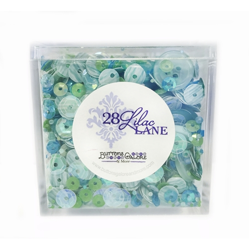 28 Lilac Lane SEAGLASS Shaker Mix LL503 Preview Image