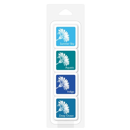 Hero Arts TROPICAL WATERS Bold Ink Cubes AF389 Preview Image