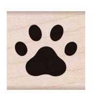 Hero Arts Rubber Stamps PAW PRINT A6220 zoom image