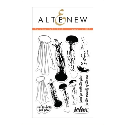 Altenew PAINTED JELLYFISH Clear Stamp Set ALT1508 Preview Image