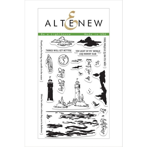 Altenew BE A LIGHTHOUSE Clear Stamp Set ALT1499 Preview Image