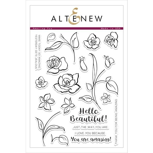 Altenew AMAZING YOU Clear Stamp Set ALT1496* Preview Image