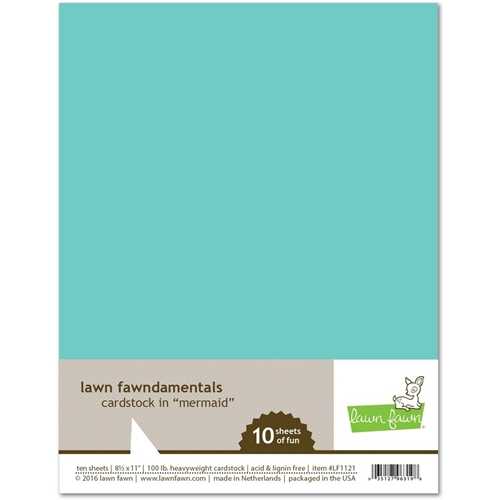 Lawn Fawn MERMAID Cardstock LF1121 Preview Image
