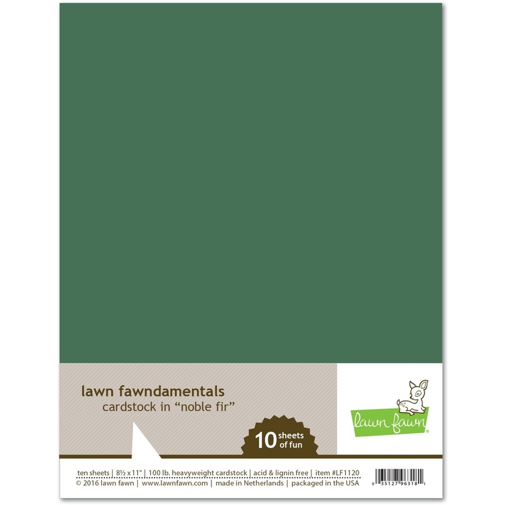 Lawn Fawn NOBLE FIR Cardstock LF1120 zoom image