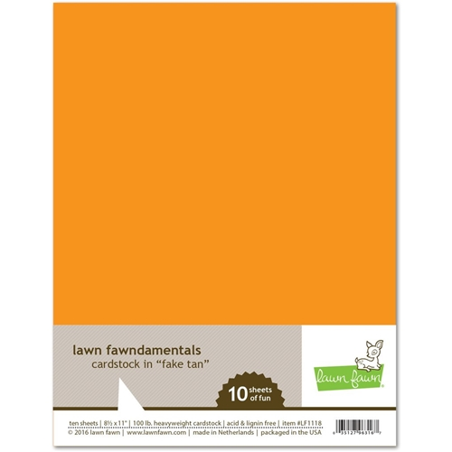 Lawn Fawn FAKE TAN Cardstock LF1118 Preview Image
