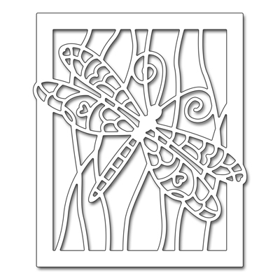 Penny Black DRAGONFLY FRAME Thin Metal Creative Dies 51-301 Preview Image