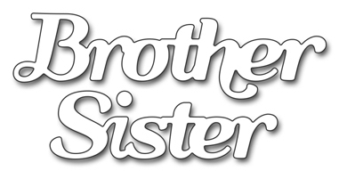 Penny Black BROTHER SISTER Thin Metal Creative Dies 51 336 Preview Image
