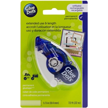 Glue Dots Permanent TAPE RUNNER Blue 41601