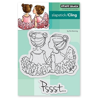 Penny Black Cling Stamp WHISPERS 40-528 zoom image