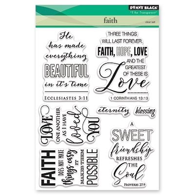 Penny Black Clear Stamps FAITH 30 409 Preview Image